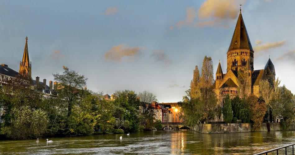 Ile du Saulcy, Metz